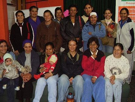 Entreprenörsgruppen La Esperanza Group i Asunción, Paraguay. Bild: Kiva.org
