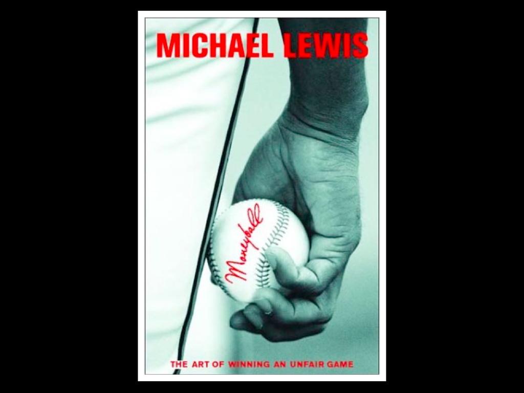 Omslaget till Moneyball, the art of winning an unfair game