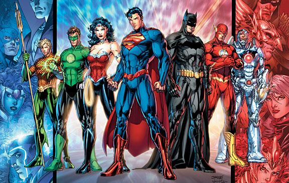 Ett exempel på en arbetsgrupp med blandade kompetenser - Justice League!