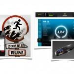Zombies, Run! vs Nike fuelband