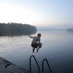 Ett sommarminne som jag delar med Niklas - konferenshelg på Finnahamn. Foto: John Airaksinen