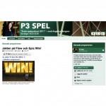 P3 Spel om flow och episka vinster