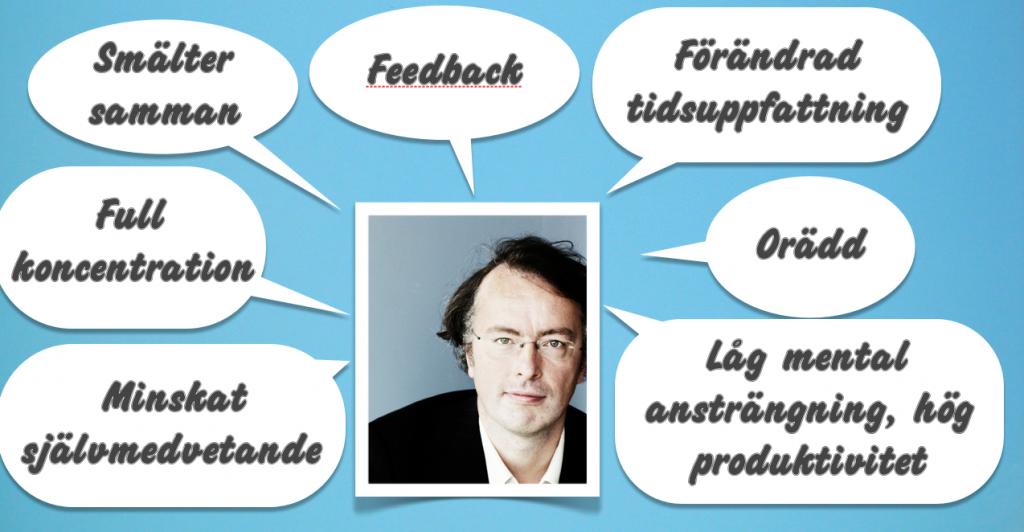 Fredrik Ullén forskar på flow vid Karolinska Institutet. Foto: Sara Appelgren.