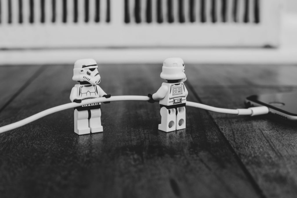 Stormtroopers som samarbetar